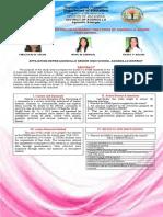 DRRM Practices of Agoncillo Senior High School