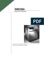 PRINTRONIX+P9212+Maintenance+Manual+Parts,+Service+Manual