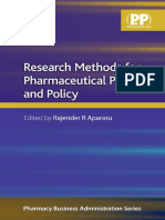 Research Methods for Pharmaceutical Practice