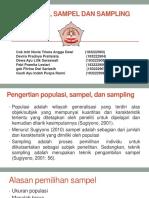 Populasi, Sampel Dan Sampling