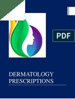 Dermatology Prescriptions