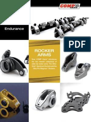 For Gm Ls7 1.8//1.8 COMP Cams 1523 Shaft Rocker System