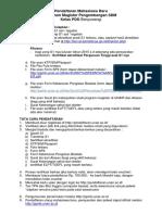 Syarat Tatacara Pendaftaran S2 PSDM PDD Banyuwangi