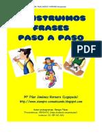 CONSTRUIMOS FRASES PASO A PASO
