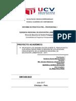 Informe de Practicas Profesionales - UCV - Contabilidad 2017