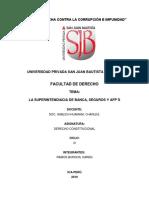23. Veintitresava Sesión-Superintendencia de Banca y Seguros. Normativa Constitucional y Ley Orgánica