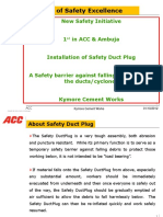Presentation on Safety Duct Plug