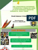 Pengolahan dan Pemanfaatan Limbah B3 di Surabaya, Jawa Timur