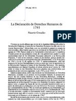 Declaracion Derechos Humanos 1793