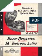 Reed prentice lathe brochure