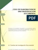 UNIDAD 4 PROCESO DE ELABORACION DE UNA INVESTIGACION DOCUMENTAL.pptx