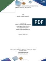 SISTEMAS DE ECUACIONES LINEALES, RECTAS, PLANOS Y ESPACIOS VECTORIALES