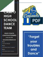 dchs dance team final contract
