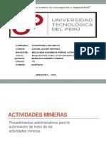 REQUISITOS PARA ACTIVIDADES MINERAS.pptx