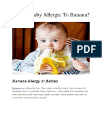 Is Your Baby Allergic to Banana PDF