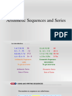 7.1 Define and Use Sequences Series (1)