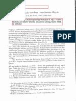 Panofsky - Perspektive Alberti