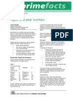 Apple and Pear Nutrition - Primefact 85