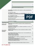 N° 171 (2012-12) Sumario #