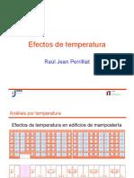 Efectos de La Temperatura en Las Estructuras