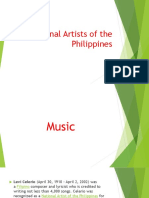 National Artists of the Philippines 1