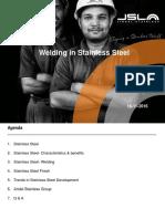 Presentation 5 - Welding in Stainless Steel