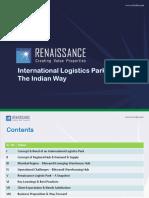 CII Logistics Parks Indian Way