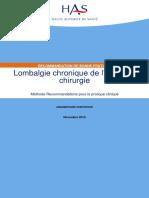 lombalgie