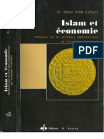 Islam Et Economie - Abdul Hadi Gafouri (PDF Text)