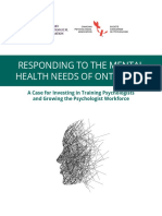 OPA Responding to the Mental Health Needs of Ontarians Web