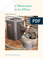 HVAC Maintenance Guide for DIYers