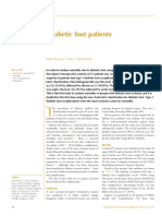 Mortality in Diabetic Foot