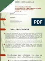 12 °OBRAS DE EXCEDENCIA ESTRUCTURAS HIDRAULICAS