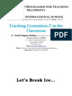 Teaching Generation Z