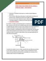 "informe laboratorio hidraulica II ""vertederos"""