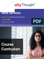 QT Web Services- Course Content