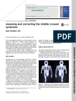 Assessing and Correcting the Middle Crossed Syndrome
