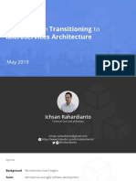 Transforming to Microservice