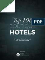 Top 100 Boutique Hotels