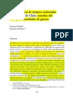 La Experiencia de Mujeres Asalariadas en Santiago de Chile... L. Godoy, A. Stecher.desbloqueado