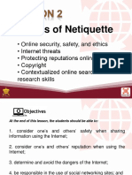 L2 Rules of Netiquette