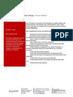 Microsoft Word - Navisworks Essentials 2013 Training