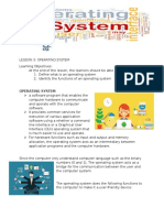 Lesson 4 Operating System