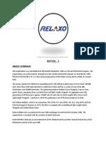 ratios analysis relaxo