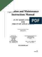 Operation Manual for Clarke JU_JW Model Engines