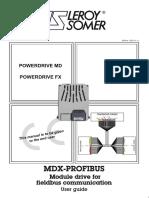 MDX Profibus - Leroy Somer - 2011
