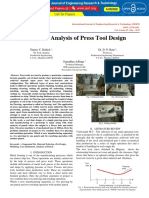 Study and Analysis of Press Tool Design IJERTV6IS070033