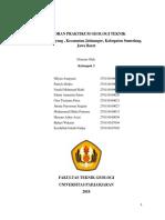 Laporan Praktikum Geologi Teknik