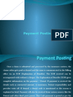 Payment Posting Process