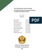 Laporan Mapping Geologi Teknik Kelompok 3